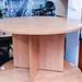 Cherry circular office table