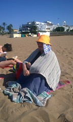 Nokia Lumia 1020 - Spain 2016 - My Brother, the Beach Hermit (TempusVolat) Tags: gareth wonfor tempusvolat garethwonfor tempus volat mrmorodo holiday spainholiday spain 2016 spain2016 vacance summer