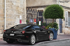 Ferrari 599 GTB Fiorano (Alexandre Prvot) Tags: auto france cars car sport automobile european parking transport automotive voiture route exotic nancy lorraine 54 supercar luxe berline exotics supercars ges 54000 dplacement meurtheetmoselle worldcars grandestsupercars