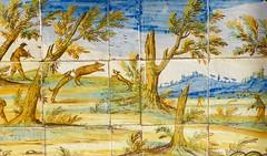 les chasses de mlagre (5) (canecrabe) Tags: chasse monastresainteclaire monastre clarisses santachiara majolique faence cramique sanglier