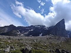 Enigmatic !! (Lopamudra!) Tags: lopa lopamudra lopamudrabarman landscape amritgangavalley amritganga himalaya highaltitude himalayas garhwal uttaranchal uttarakhand india uttarkhand mountain hill mountains clouds beauty nature