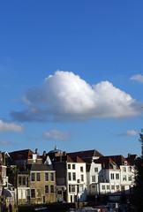 A View of Dordrecht (Eddy Allart) Tags: blue sky dutch azul nederland cielo vista nube wolk