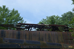 Cooperstown Junction 5 (rchrdcnnnghm) Tags: railroad abandoned train engine amtrak dh rustyandcrusty gg1 conrail pantograph pennsylvaniarailroad penncentralrailroad delawareandhudsonrailroad ostegocountyny cooperstownjunctionny