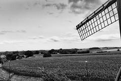 Windmill with a view (devos.ch312) Tags: windmill windmillblades landscape fields olvlombeek flanders belgium windmillofcaptainzeppos