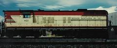 OLD RAILROAD PHOTOS (bslook1213) Tags: nevada northern railroad kennecott diesel locomotive caboose twobayhopper outdoor vintage shop google bing yahoo flickriver flickrhive