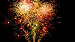 Fireworks (G.Comte) Tags: firework limoges france feuartifice summer light lighttrails fireworks colorful colors a5000 sony