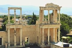Plovdiv Roman theatre (mmalinov116) Tags: plovdiv bulgaria   old theatre roman architecture