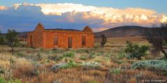 Wilson Ruins (renatonovi1) Tags: wilson southaustralia sa australia ruin abandoned house landscape sunset outback