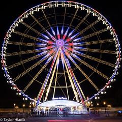 Roue de Paris (TaylorH22) Tags: flickr other roue paris france nikon d500 1685 merrygoround night