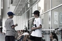 5 a (raquelfabregas) Tags: nens skaters macba barcelona adults bellesa ingenuitat