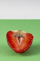 Pussy_ Versin 2 (Affaire Photography) Tags: poesavisual fruit frutilust erotic bodegon lust strawberry piercing pussy surrealista