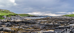 Shetland Seascape (itsmejamiefraser) Tags: 5dmk3 scotland beautiful rocks landscape canon shetland sunset sea