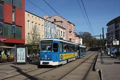 RSAG Rostock T6A2 804+762 (geschi1987) Tags: doberanerplatz strasenbahn tram rsag rostock