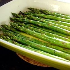 Baked Asparagus with Balsamic Butter Sauce Recipe (deliciousquickfood) Tags: asparagus baked balsamic butter sauce with