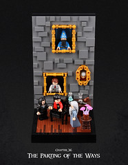 Harry Potter and the Goblet of Fire 29 (Xenomurphy) Tags: lego moc bricks harrypotter gobletoffire rowling muggle magic weasley hermione malfoy voldemort hogwarts hogsmeade slytherin hufflepuff gryffindor ravenclaw quidditch