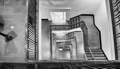 music you don't know (Keith Midson) Tags: melbourne stairs staircase stairwell steps heritage mailexchange architecture legs bannister