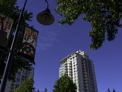 At the bus stop (Tony Tomlin) Tags: whiterockbc britishcolumbia canada condos
