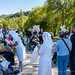 Ambiance au pélerinage  national italien