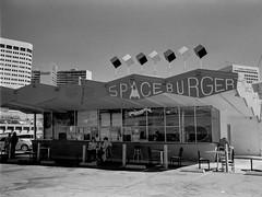Space Burger, Oakland (Postcards from San Francisco) Tags: oakland california hamburger leica ma 35mmsummicroniv film analog jchstreetpan400