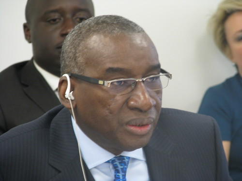 ASP President Sidiki Kaba by Coalition for the ICC, on Flickr