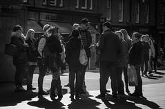 M for Meeting (John Penberthy LRPS) Tags: london monochrome blackwhite nikon meeting spitalfields d90 johnpenberthy