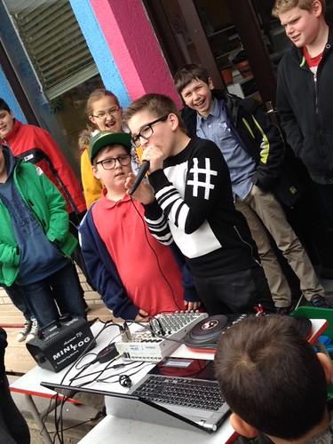 DJ talent @ Schakelschool