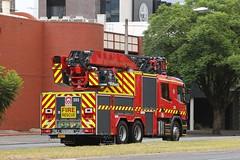 New Adelaide 203 in service (adelaidefire) Tags: station fire south australian adelaide service sa metropolitan metz scania mfs rosenbauer 1401 samfs sasgar l20fa