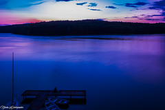 Late afternoon (Nico photographies) Tags: sunset lake canon de soleil couleurs lac polska 1855 nuages couchdesoleil couch pologne poselongue 600d filtrend