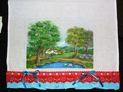 campo (LID ARTS) Tags: de em prato panos pintura tecido