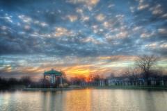 Forest Park Sunrise (Jon Dickson Photography) Tags: park forest sunrise missouri forestpark