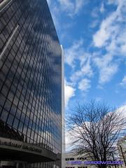 IMG_4323 (Shadow091995) Tags: sky berlin architecture clouds germany deutschland himmel wolken spiegelung mirroring friedrichstrase