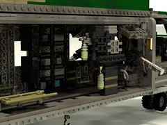 HH-53C Super Jolly Green Giant interior avionics racks (rx79gez8gundam) Tags: green giant lego super jolly sikorsky hh53 hh53c