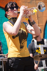 Minor Mishap Marching Band (Viajante) Tags: musician music festival austin us texas unitedstates band
