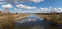 Panorama, Sude bei Bandekow, auf der Brcke (Boizenburger) Tags: natur boizenburg elbe mecklenburg naturschutzgebiet sude flus flusslandschaft