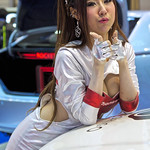Sexy presenter for Pioneer Car Sound Systems at the 36th Bangkok International Motor Show thumbnail