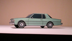 '79 Chevy Impala (jcarwil) Tags: chevrolet car paper toy model impala 79 papercraft 2015 jcarwil