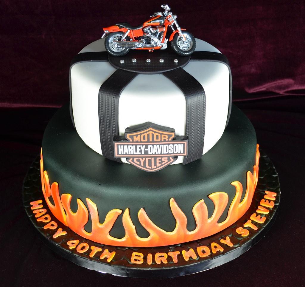 Harley Birthday Cake Chic