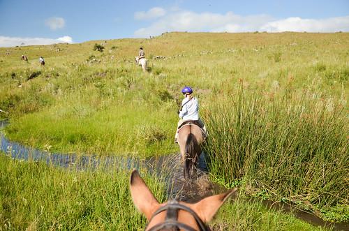 Horseriding at Estancia Los Potreros