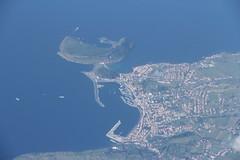 Cidade da Horta e Monte da Guia, Ilha do Faial (twiga_swala) Tags: city cidade portugal island view aerial mount crater caldera vista monte ilha area azores horta aores guia faial