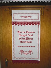 berhandtuch (Regine1959) Tags: kitchen crossstitch kche kreuzstich