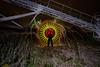 EMD #269 - Beneath the Conveyor Belt (Electrical Movements in the Dark) Tags: longexposure lightpainting paintingwithlight lightart emd lapp lightartperformancephotography electricalmovementsinthedark