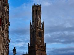 belltower, Brugge (wellingtonandsqueak) Tags: belgium brugge grotemarkt c1