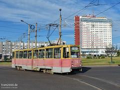 Krasnojarsk (RUS) (Robert Leichsenring) Tags: russia streetcar tramway strassenbahn krasnojarsk sibiria tramwaj russland россия трамвай krasnoyarsk sibirien красноярск strasenbahn ktm5 ктм5 сибирия