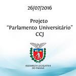 Projeto Parlamento Universit�rio - CCJ - 26/07/2016