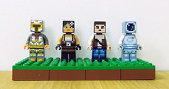 Skin Packs de minifigs LEGO Minecraft (hello_bricks) Tags: lego minecraft legominecraft minifig minifigures minifigs minifigure minifigurines minifigurine collectibleminifigures 853609 853610