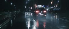 Rainy Night #1 (tomasz.cc) Tags: road camera city cinema reflection car rain night lights poland lightning pocket cracow slippery thunder blackmagic bmpcc