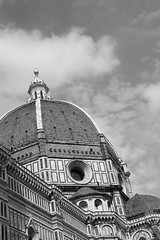 Cupola. (GiuliaBrianDiBiase) Tags: italy white black art clouds cool cupola firenze brunelleschi