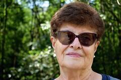 (giuliabuscemi) Tags: granny portrait nature green people