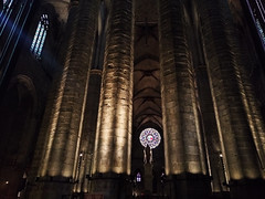 Cathedral and light (mariapf94) Tags: barcelona church del mar spain cathedral catedral