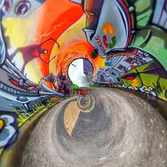 Love Alien in St Pauls (Benn Gunn Baker) Tags: red orange art love st canon bristol graffiti baker little alien pauls warped planets recycle benn gunn 550d t2i rollworld